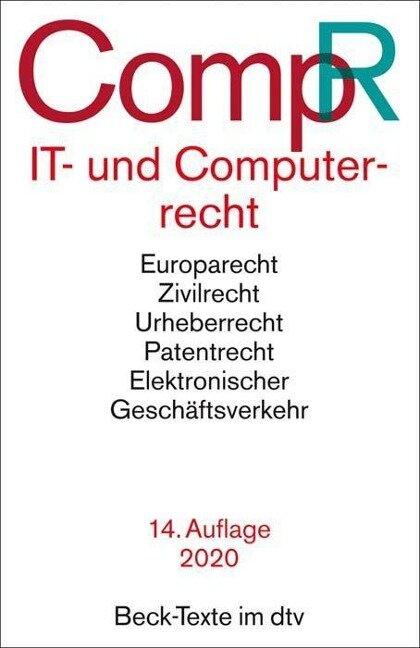 IT- und Computerrecht - CompR - Jochen Schneider