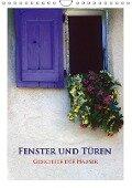 Fenster und Türen - Gesichter der Häuser (Wandkalender 2018 DIN A4 hoch) - Rick Janka