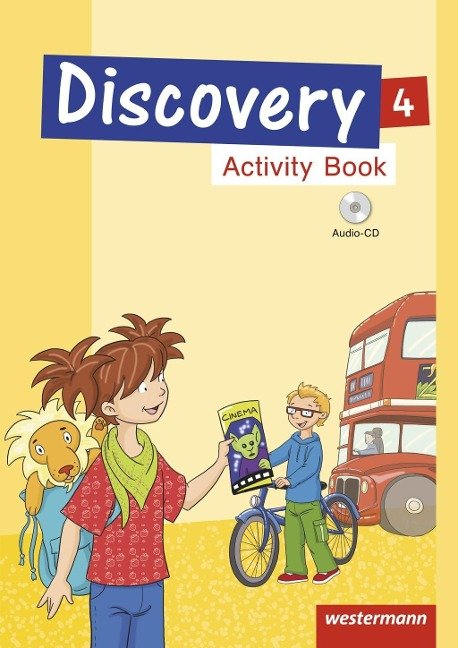 Discovery 4. Activity Book mit Audio-CD -