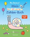 Mein kunterbuntes Zahlen-Buch. Spielerisch die Zahlen von 1 bis 20 lernen. - Nico Sternbaum