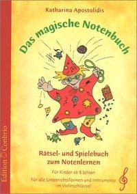 Das magische Notenbuch - Katharina Apostolidis