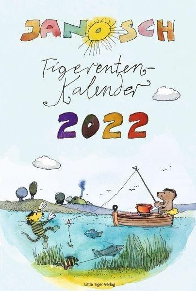 Janosch Tigerentenkalender 2022 - Janosch