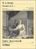 Fantasie in d (KV 397) - Wolfgang Amadeus Mozart