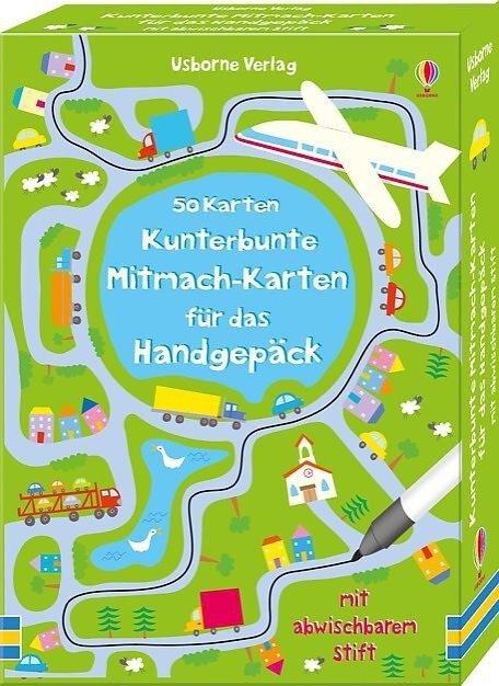 Kunterbunte Mitmach-Karten für das Handgepäck - Catriona Clarke