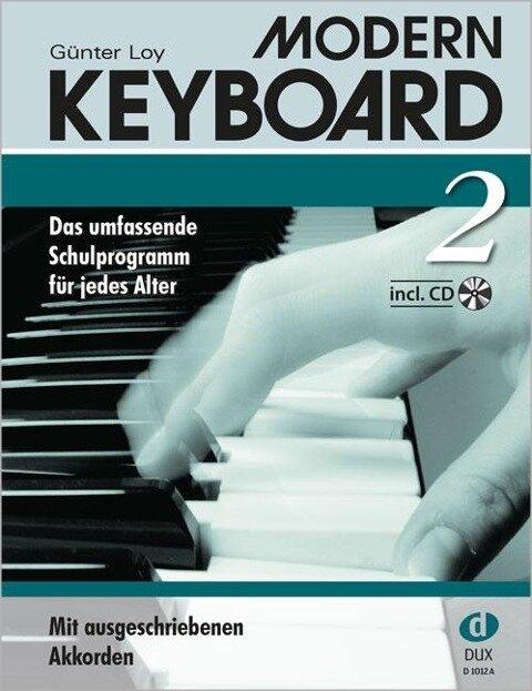 Modern Keyboard 2 + CD - Günter Loy
