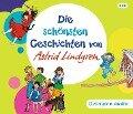 Die schönsten Geschichten von Astrid Lindgren (3 CD) - Astrid Lindgren, Dieter Faber, Frank Oberpichler, Georg Riedel