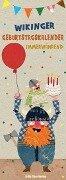 Wikinger-Geburtstagskalender immerwährend - Sandra Monat