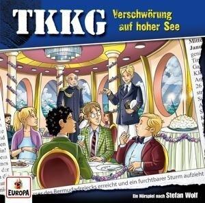 TKKG 204. Verschwörung auf hoher See -