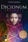 Dicionum: Alle drei Bände der magischen Trilogie in einer E-Box! - Vivien Summer