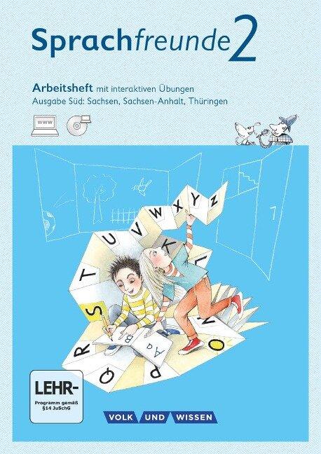 2. Schuljahr - Arbeitsheft mit interaktiven Übungen auf scook.de - Susanne Kelch, Andrea Knöfler