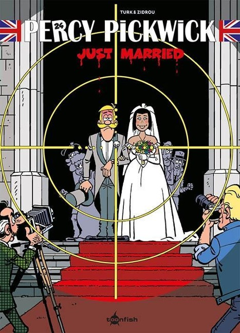 Percy Pickwick 24. Just Married - Turk, Zidrou