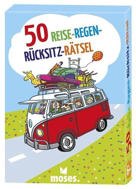 50 Reise-Regen-Rücksitz-Rätsel - Nicola Berger