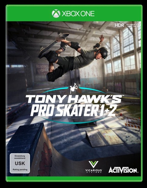 Tony Hawk's Pro Skater 1+2 (XBox One) -