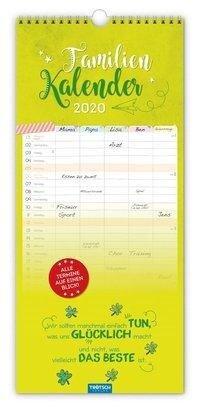 """Familienkalender """"Einfach glücklich..."""" 2020 -"""