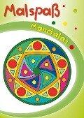 Grüner Malspaß Mandalas -