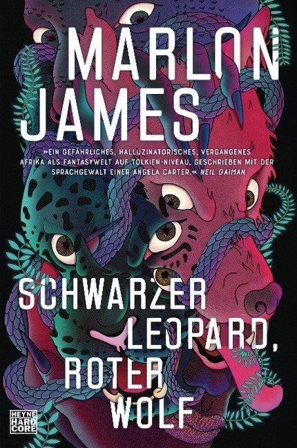 Schwarzer Leopard, roter Wolf - Marlon James