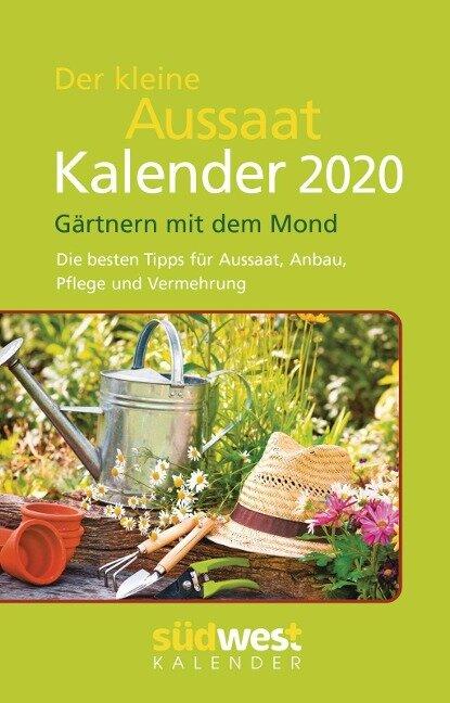 Der kleine Aussaatkalender 2020 Taschenkalender -
