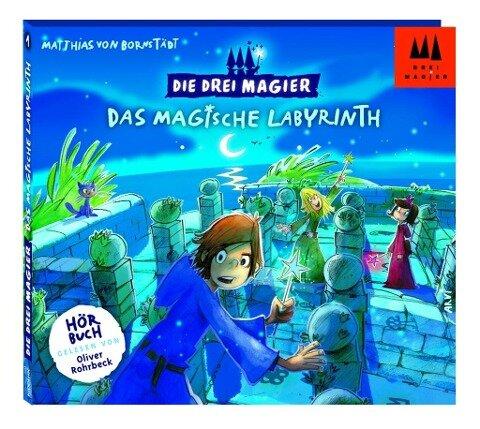 Die Drei Magier - Das magische Labyrinth - Matthias von Bornstädt
