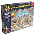 Jan van Haasteren - Am Strand - 1000 Teile Puzzle -