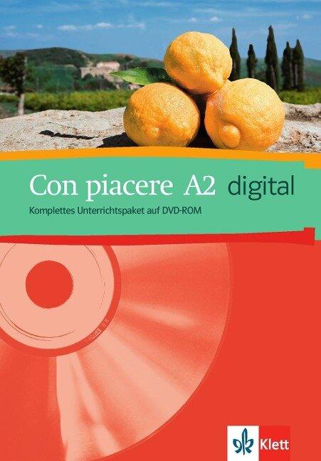 Con piacere. A2 digital. DVD-ROM -