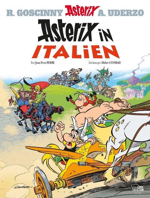 Asterix 37. Asterix in Italien - Jean-Yves Ferri, Didier Conrad