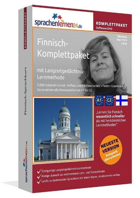Sprachenlernen24.de Finnisch-Komplettpaket (Sprachkurs) -
