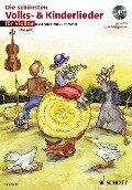 Die schönsten Volks- und Kinderlieder für Violine. Notenausgabe -