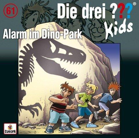 Die drei ??? Kids 61: Alarm im Dino-Park - Boris Pfeiffer