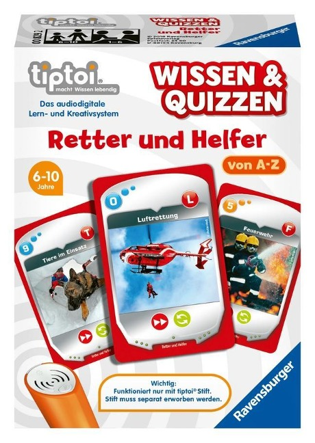 tiptoi® Wissen & Quizzen: Retter und Helfer -