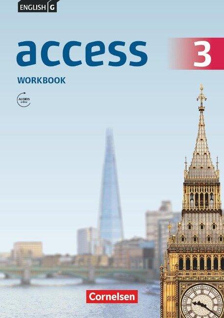 English G Access 3: 7. Schuljahr.Workbook mit Audios online - Jennifer Seidl