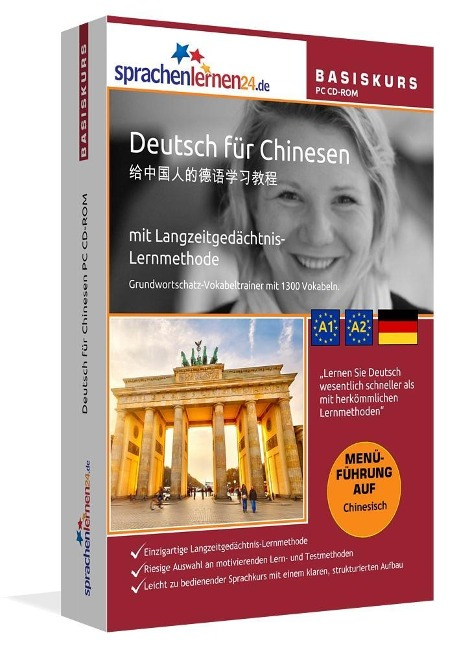 Sprachenlernen24.de Deutsch für Chinesen Basis PC CD-ROM - Udo Gollub