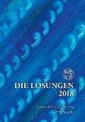 Die Losungen 2018 / Geschenk-Normalausgabe -