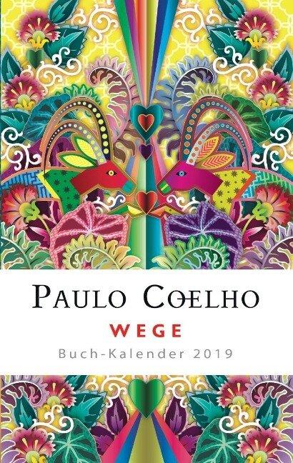 Wege - Buch-Kalender 2019 - Paulo Coelho