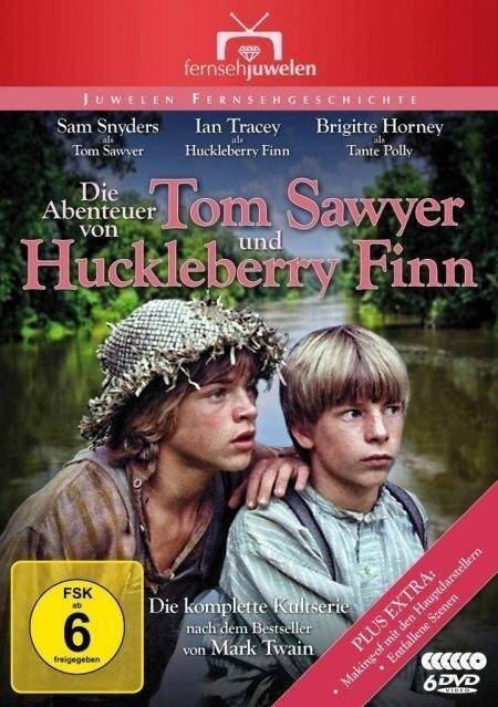 Die Abenteuer von Tom Sawyer und Huckleberry Finn - Die komplette Serie. 4 DVDs -