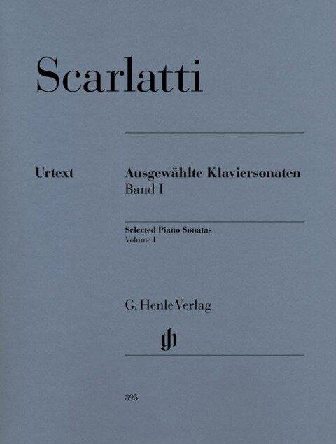 Ausgewählte Klaviersonaten 1 - Domenico Scarlatti