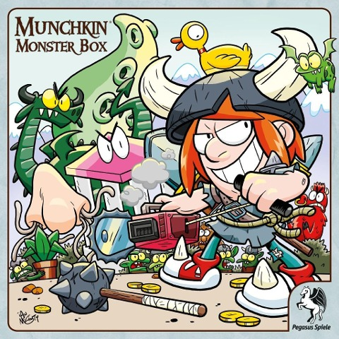 Munchkin Monsterbox Cover 2 (McGinty) -