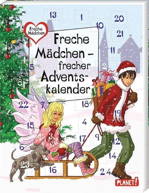 Freche Mädchen - frecher Adventskalender - Sabine Both, Thomas Brinx, Anja Kömmerling, Chantal Schreiber, Hortense Ullrich