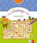 Klett Mein Lieblings-Block Labyrinthe -