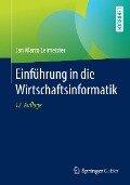 Einführung in die Wirtschaftsinformatik - Jan Marco Leimeister