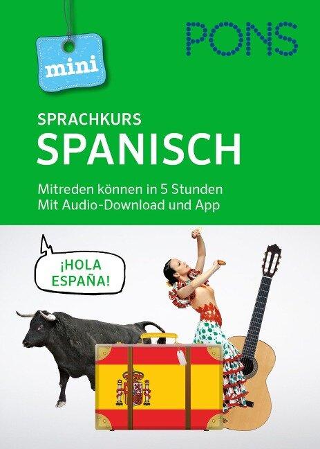 PONS Mini-Sprachkurs Spanisch. Mit Audio-Download und App -