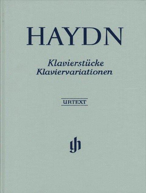 Klavierstücke, Klaviervariationen - Joseph Haydn