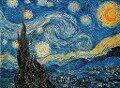 Vincent Van Gogh - Sternennacht. Puzzle 1000 Teile -