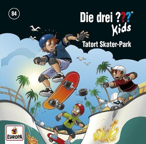 Die drei ??? Kids 84. Tatort Skater-Park - Ulf Blanck