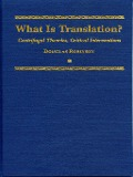 What is Translation? - Douglas Robinson