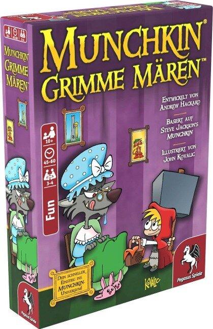 Munchkin: Grimme Mären -