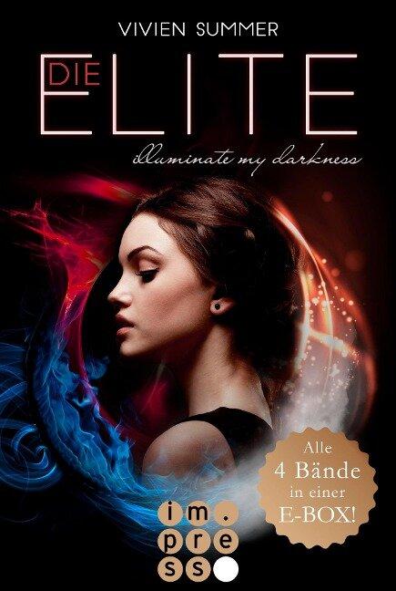 Alle vier Bände der Bestseller-Reihe in einer E-Box! (Die Elite) - Vivien Summer