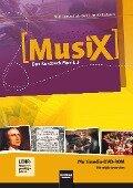 MusiX 3. Multimedia DVD-ROM (Einzelplatzversion). Das Kursbuch Musik 3. Klasse 9/10 - Markus Detterbeck, Gero Schmidt-Oberländer