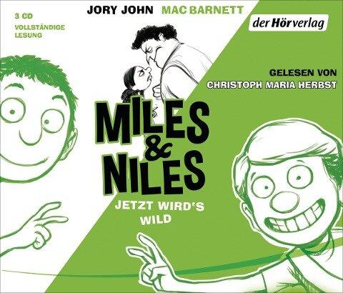 Miles & Niles - Jetzt wird's wild - Jory John, Mac Barnett