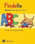 Findefix Wörterbuch in vereinfachter Ausgangsschrift - Sandra Duscher, Mascha Kleinschmidt-Bräutigam, Margret Kolberg, Dirk Menzel, Anja Wildemann