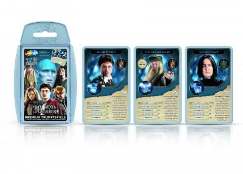 Top Trumps Harry Potter 30 Hexen und Zauberer -